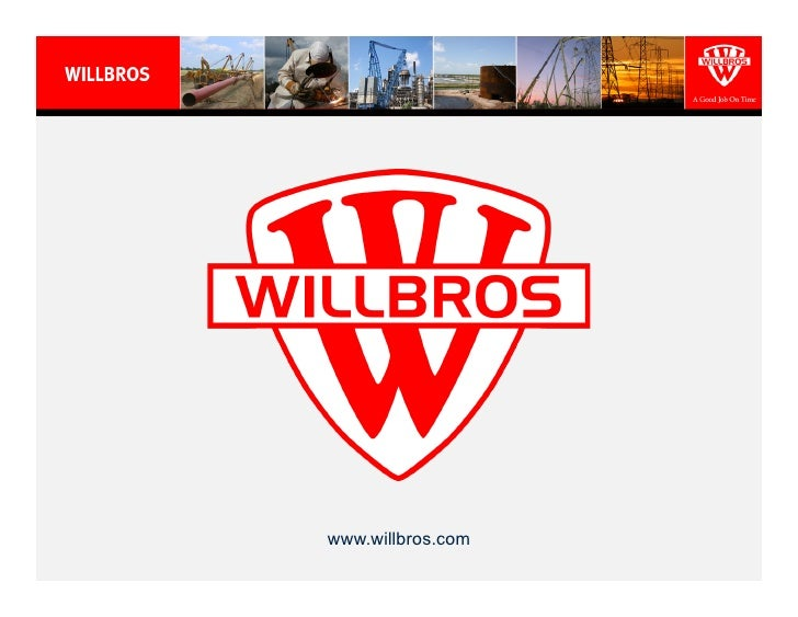 Willbros - 2011 Credit Suisse Presentation