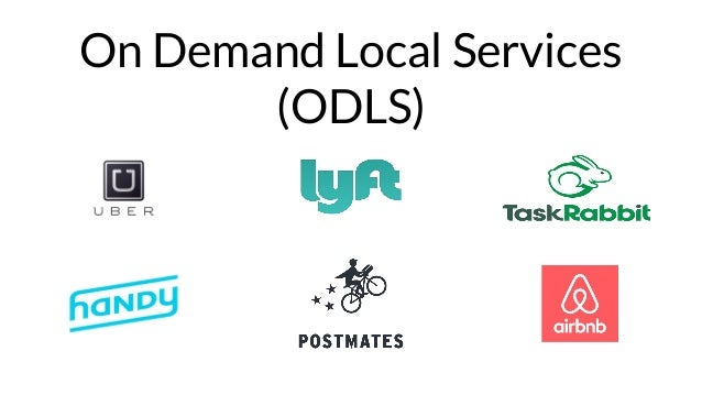 On Demand Local Services (ODLS)