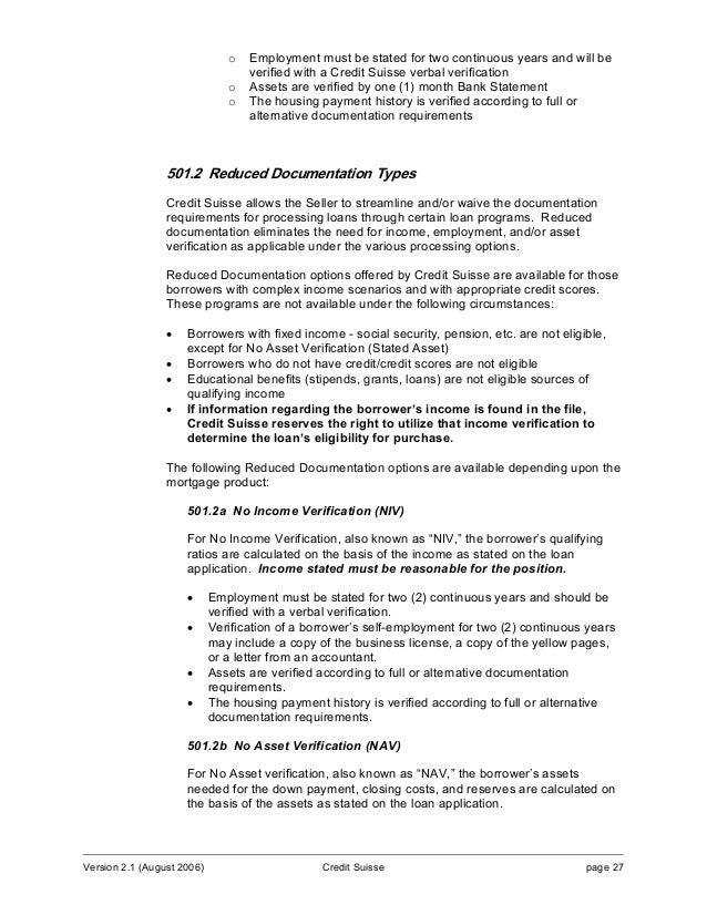 credit suisse cover letter