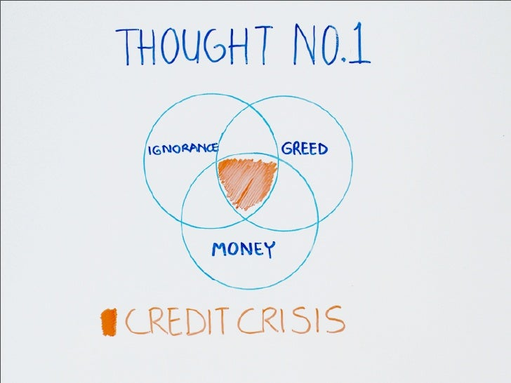 Whiteboard thoughts on the Credit Crisis Slide 2