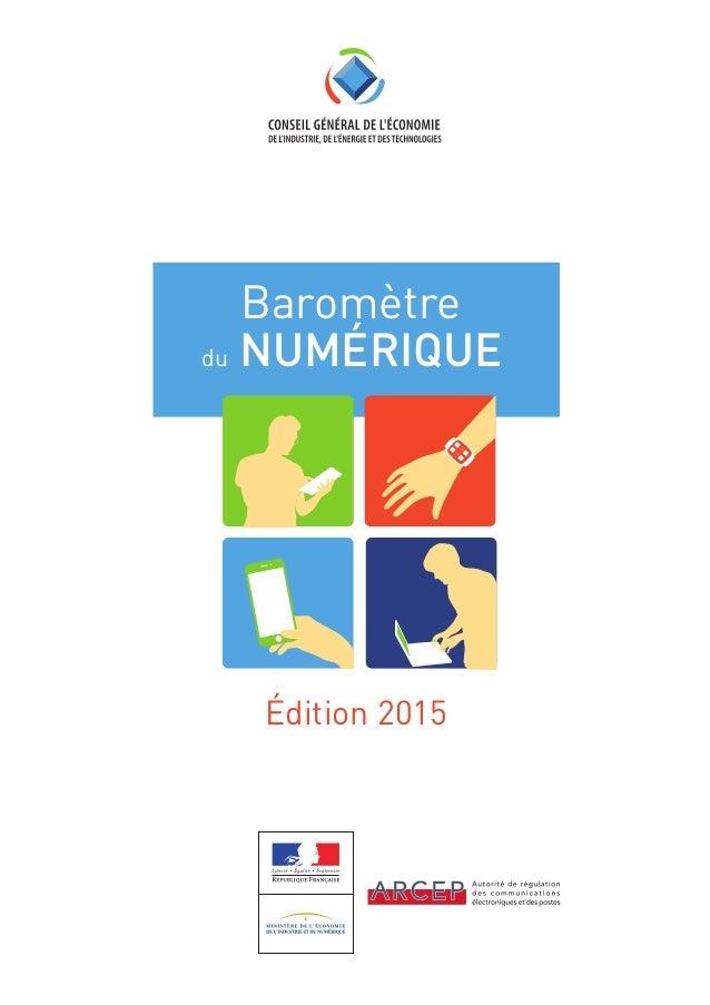 Édition 2015 Baromètre du NUMÉRIQUE