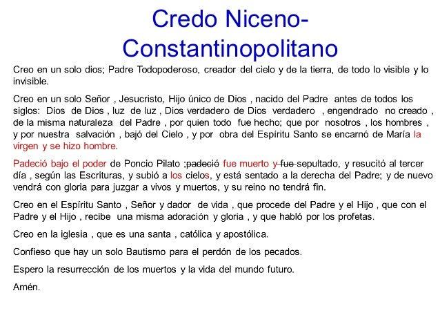 Credo niceno constantinopolitano2