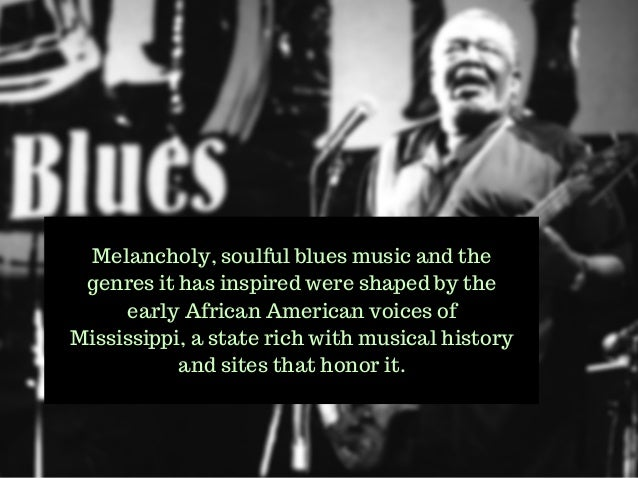 an introduction to the origins of blues music An interview with gerhard kubik about african blues music  why don't you  introduce yourself and give us an overview of your work with african music and  blues  in african and african-american history, as with history from.