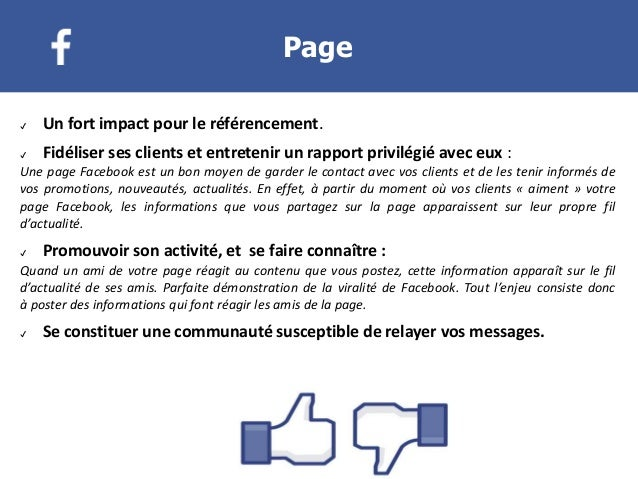 Creer Et Animer Sa Page Facebook 2016
