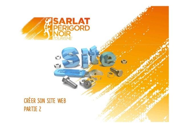 Créer son site web Partie 2
