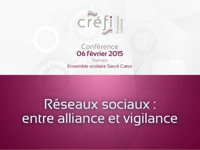 Réseaux sociaux : entre alliance et vigilance