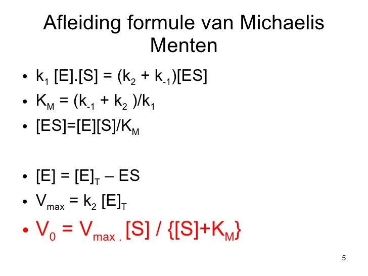 Enzymen 2e deel for Substraat betekenis