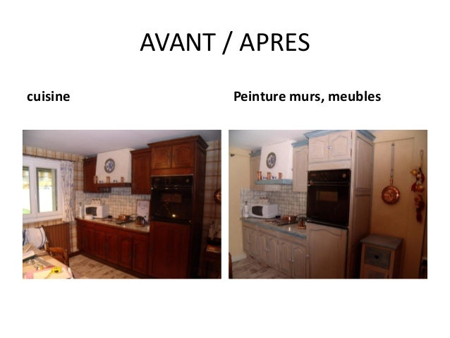 Compte rendu atelier relooking 27 03 2014 - Repeindre sa cuisine avant apres ...