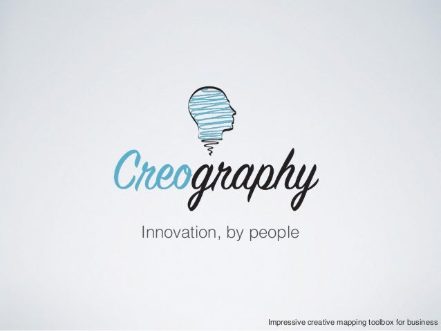 Innovation, by people Impressive creative mapping toolbox for business