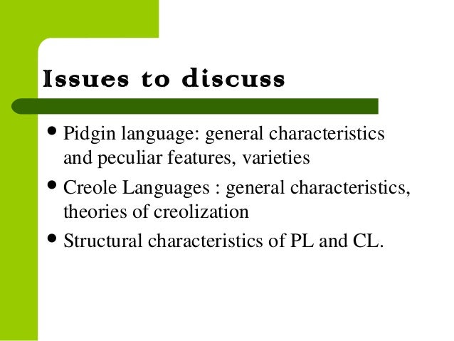 Pidgin language | Essay Example - bluemoonadv com