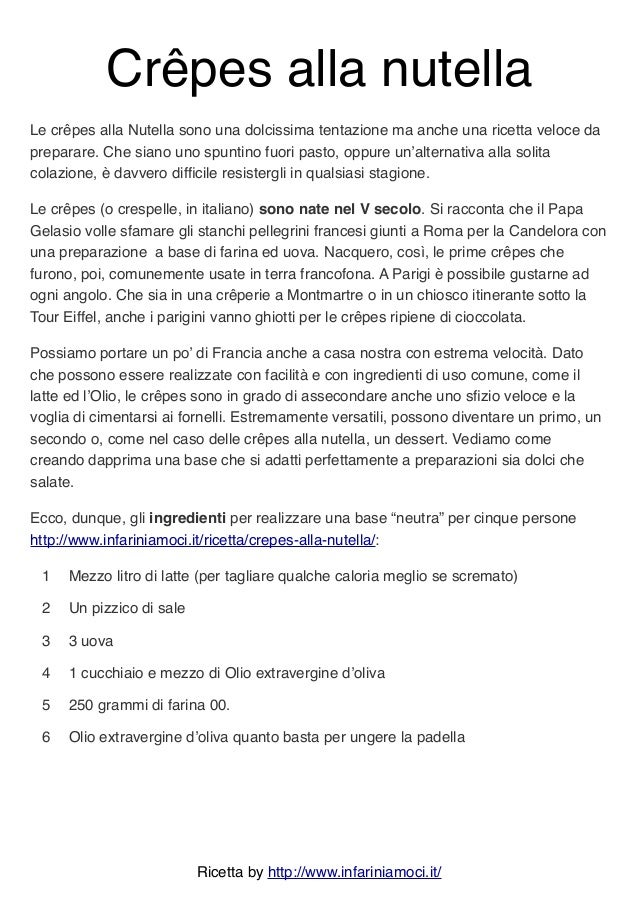 Ricetta Crepes X 2.3csgtqjxynevzm