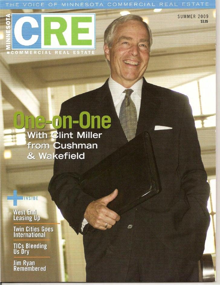 Minnesota Commercial Real Estate Magazine Broker Q & A