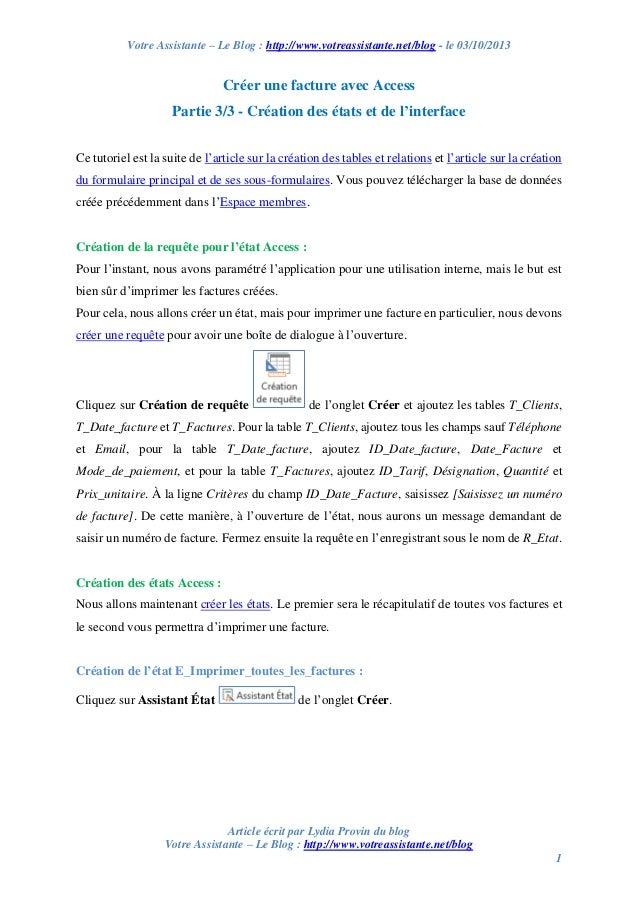 Votre Assistante – Le Blog : http://www.votreassistante.net/blog - le 03/10/2013 Article écrit par Lydia Provin du blog Vo...