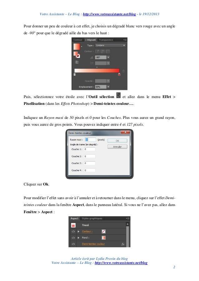 Créer un effet half-tone ou demi-teinte avec Illustrator Slide 2
