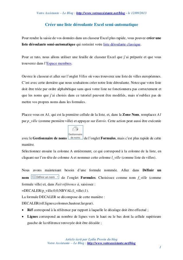 Votre Assistante – Le Blog : http://www.votreassistante.net/blog - le 12/09/2013 Article écrit par Lydia Provin du blog Vo...
