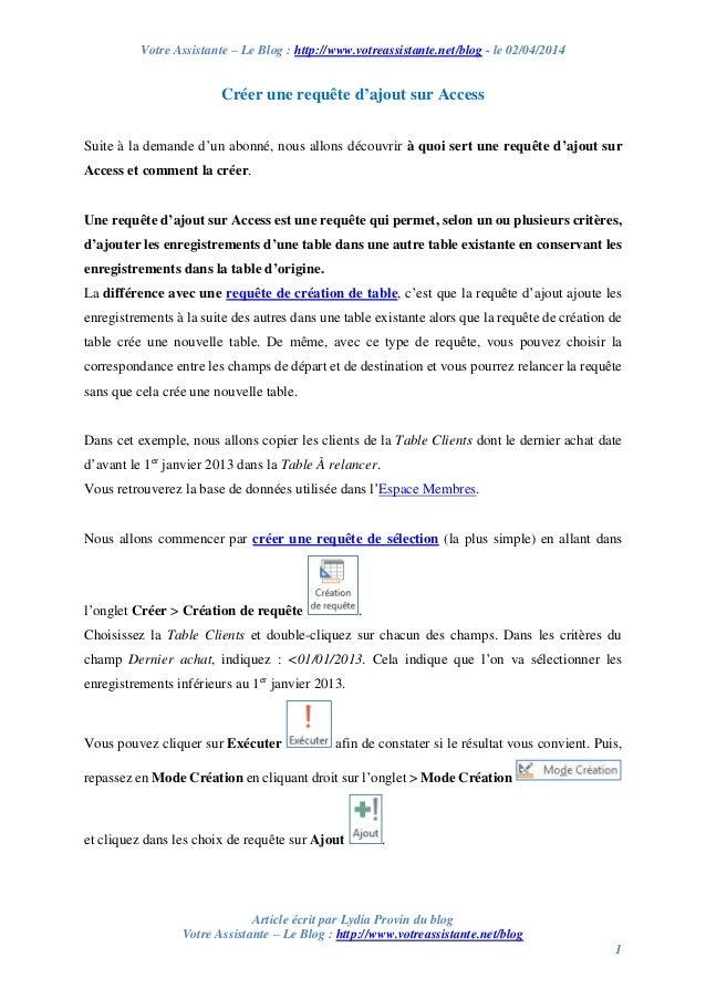 Votre Assistante – Le Blog : http://www.votreassistante.net/blog - le 02/04/2014 Article écrit par Lydia Provin du blog Vo...
