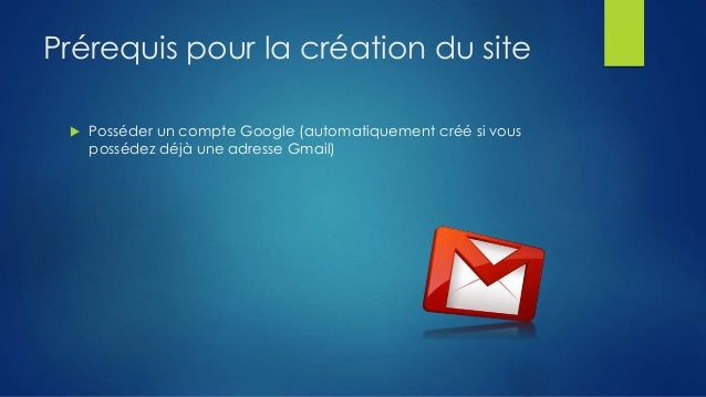 cr u00e9er un site avec google sites