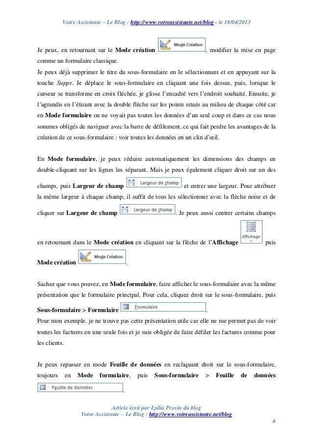 Votre Assistante – Le Blog : http://www.votreassistante.net/blog - le 18/04/2013 Article écrit par Lydia Provin du blog Vo...