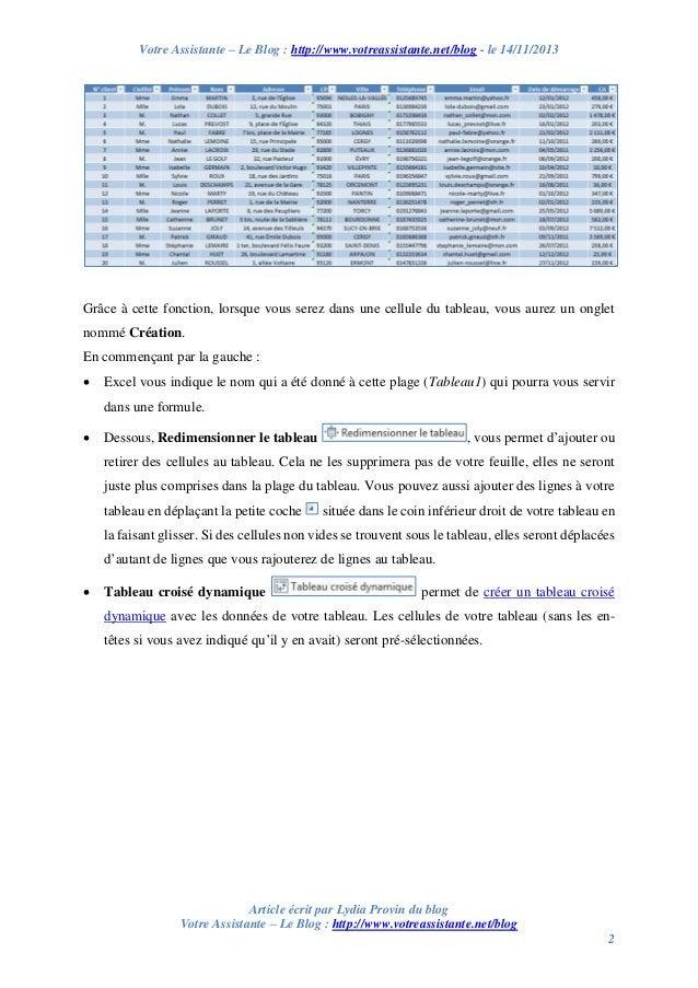 Votre Assistante – Le Blog : http://www.votreassistante.net/blog - le 14/11/2013  Grâce à cette fonction, lorsque vous ser...