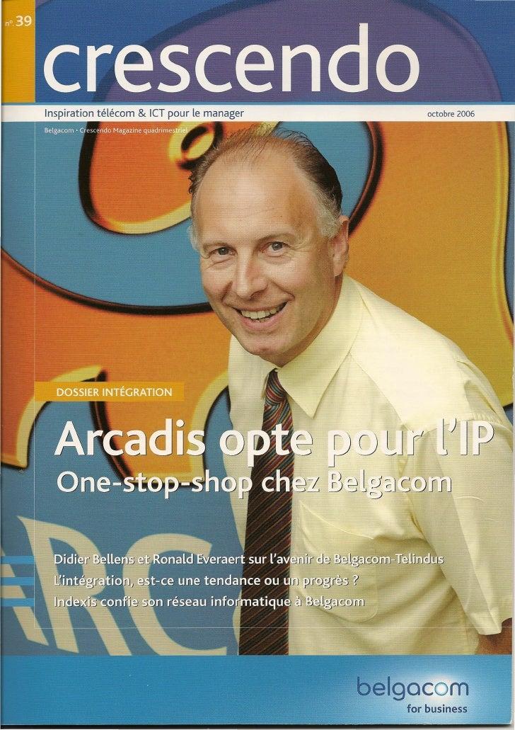 Inspiration télécom & leT pour le manager         octobre 2006                                                 elgocom    ...