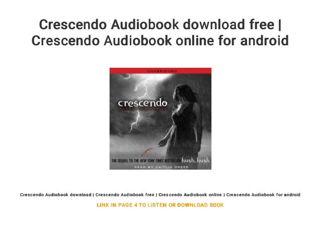 Crescendo Audiobook Download Free Crescendo Audiobook Online For An