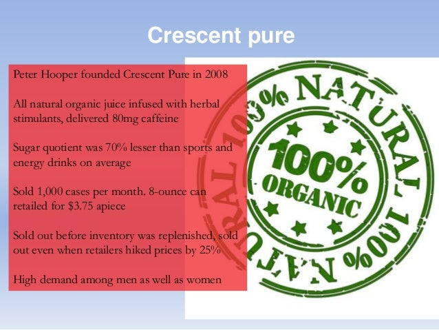 case study crescent pure Start studying crescent pure case (hbs) learn vocabulary, terms, and more with flashcards, games, and other study tools.