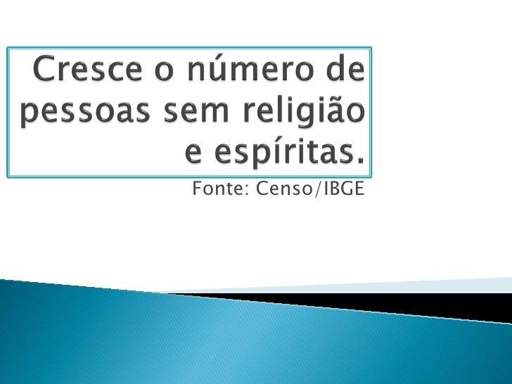 Fonte: Censo/IBGE