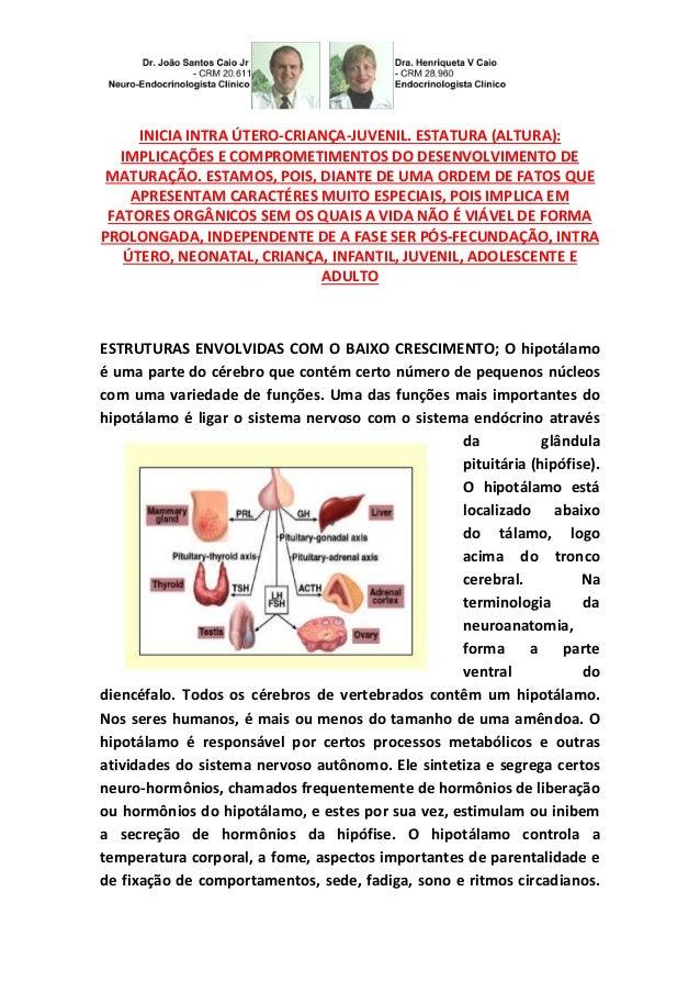 INICIA INTRA ÚTERO-CRIANÇA-JUVENIL. ESTATURA (ALTURA): IMPLICAÇÕES E COMPROMETIMENTOS DO DESENVOLVIMENTO DE MATURAÇÃO. EST...