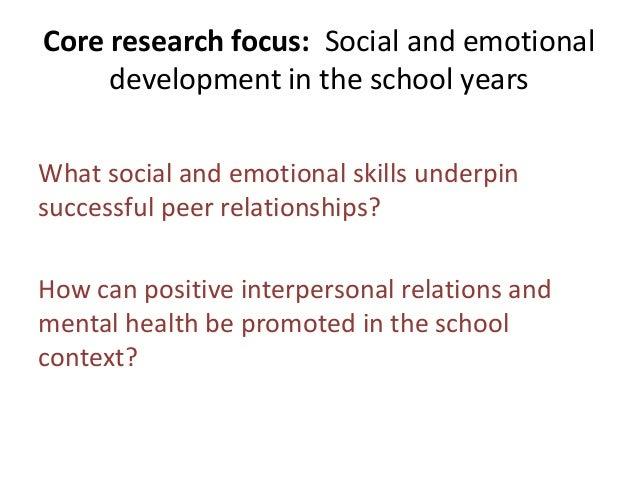 Peer relations and mental health - Dr Robin Banerjee Slide 2