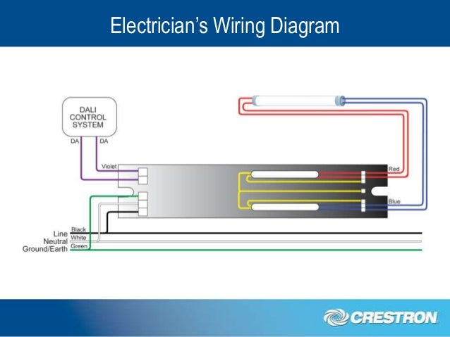 the crestron dali ballast solution crestron lighting dimmer wire diagram #1