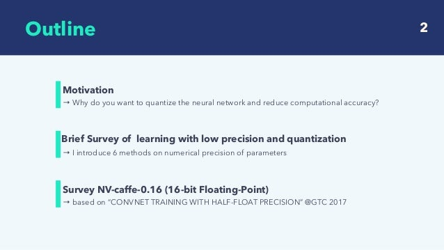 Survey of recent deep learning with low precision