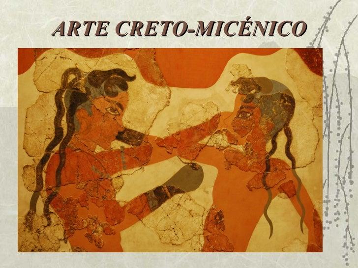 ARTE CRETO-MICÉNICO