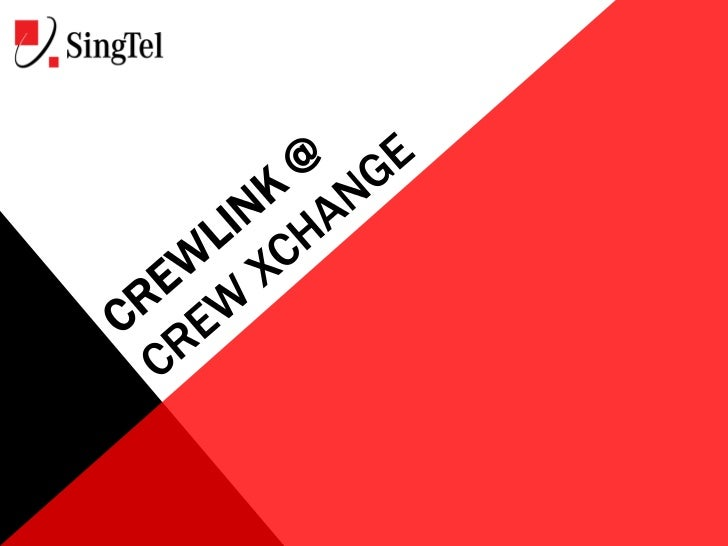 CrewLink opens a new door for you tocommunicate with your Generation Y andZ crew members in the way they are mostfamiliar ...