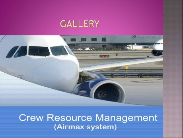 an analysis of the aircraft and crew resource management Naval aviation crew resource management the level of knowledge was constant across rank and aircraft type naval postgraduate school june 2009.