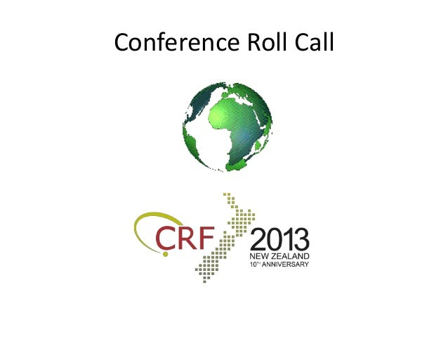 Conference Roll Call