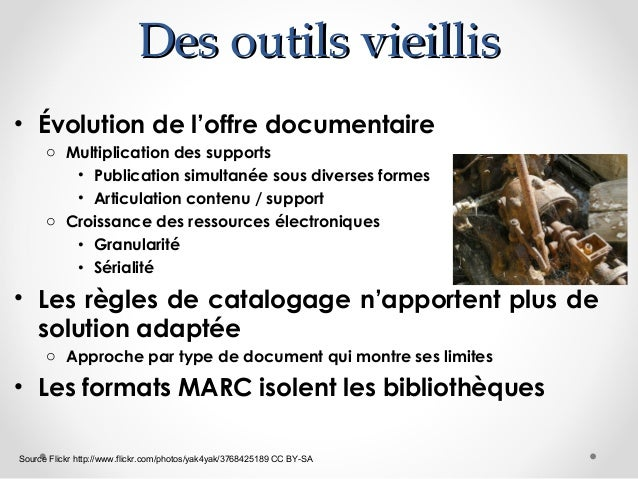 Années 1990-2011 : L'IFLA cogite o  Modélisation de l'information bibliographique   FRBR (Functional requirements for Bib...