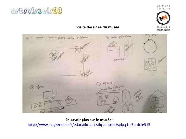 Visite dessinée du musée  En savoir plus sur le musée:  http://www.ac-grenoble.fr/educationartistique.isere/spip.php?artic...