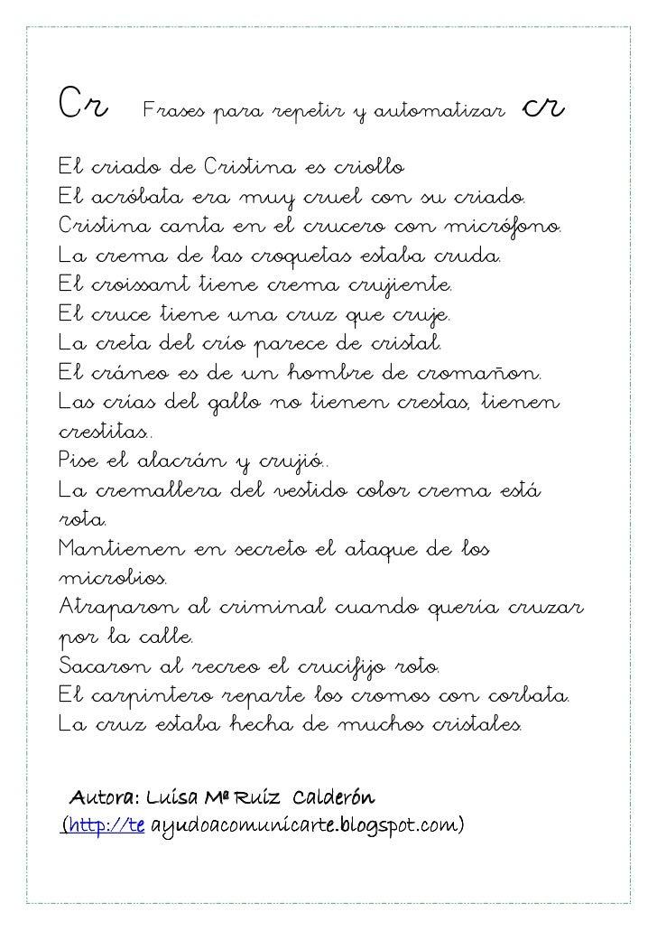 Cr Frases Para Repetir Y Automatizar Cr