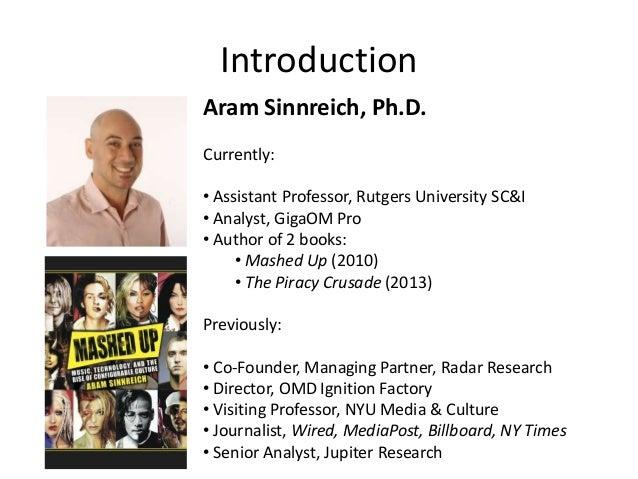 Aram sinnreich dissertation