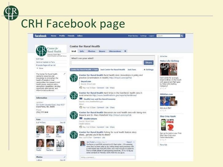 CR H      CRH Facebook page