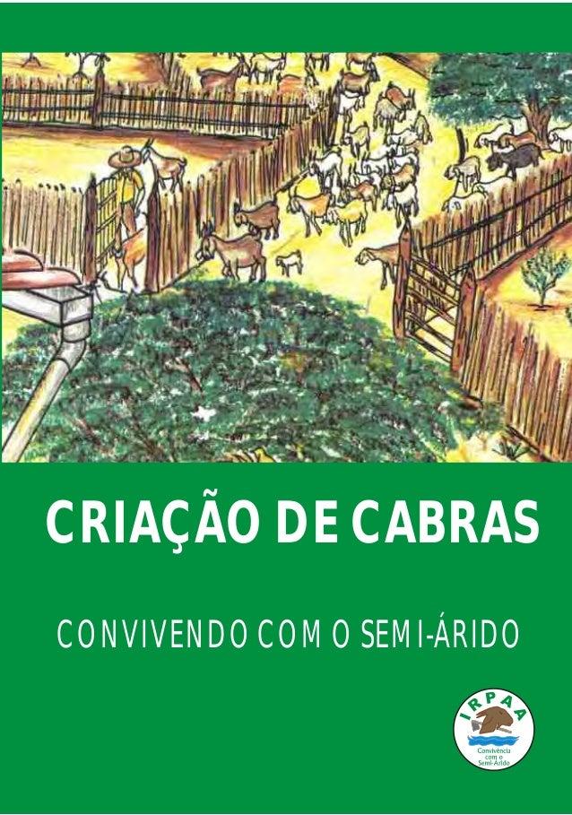 CONVIVENDOCOMOSEMI-ÁRIDO CRIAÇÃODECABRAS