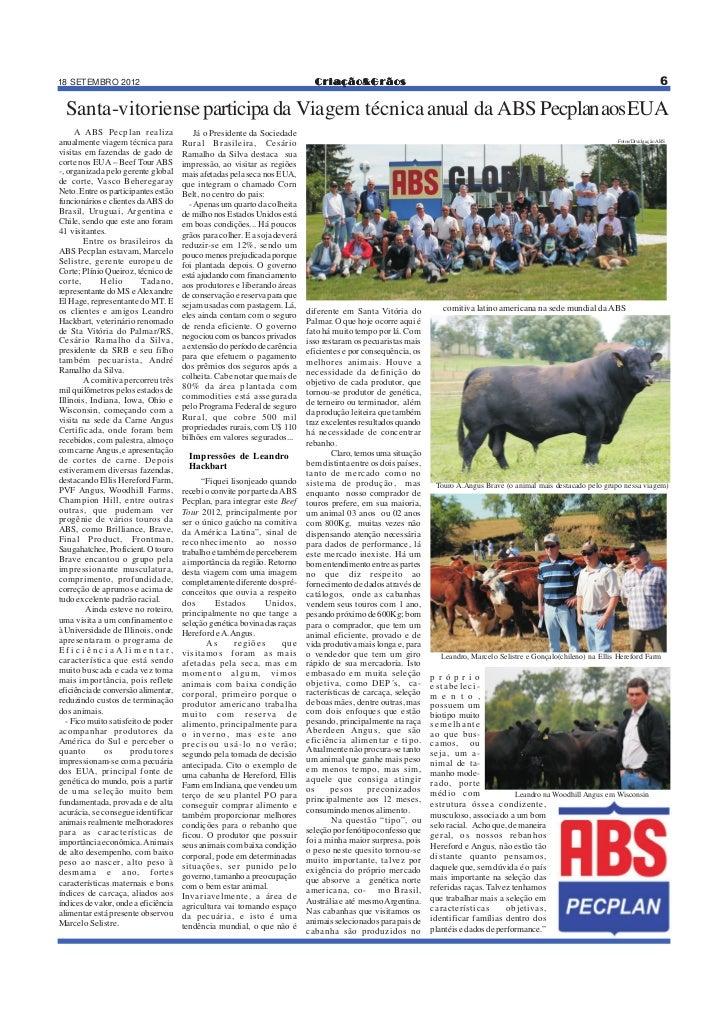 18 SETEMBRO 2012                                                                 Criação&Grãos                            ...