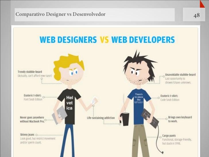 Comparativo Designer vs Desenvolvedor   48