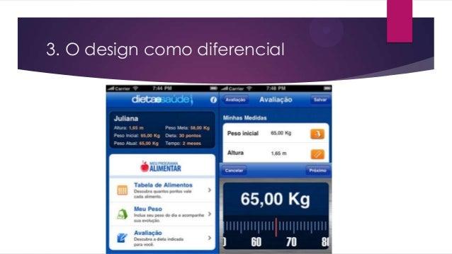 3. O design como diferencial