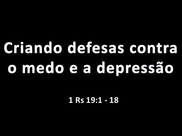 1 Rs 19:1 - 18