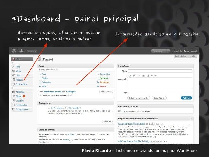 WordPress da instalação à criação de temas personalizados para seu si…