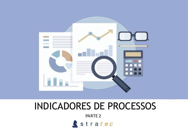INDICADORES DE PROCESSOS PARTE  2