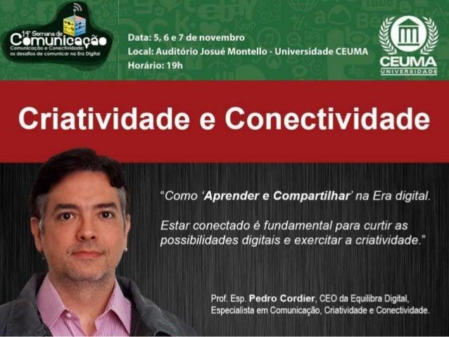 FORMAÇÃO Mestrando CIBERCULTURA (UFBA - aluno Especial); Pós-Graduado em Jornalismo Digital (UNINTER); Extensão em Marketi...