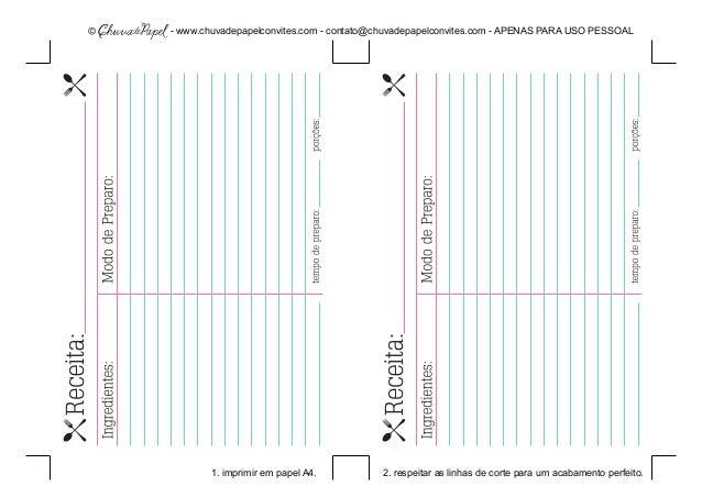 - www.chuvadepapelconvites.com - contato@chuvadepapelconvites.com - APENAS PARA USO PESSOAL 1. imprimir em papel A4. 2. re...