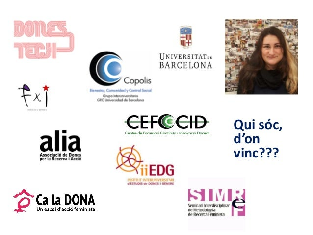 Seminari CRICC: La perspectiva de gènere a la recerca Slide 2